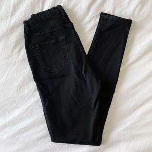 Black FashionNova Skinny Jeans